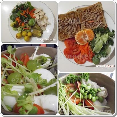 อาหารสุขภาพจับใส่ 3