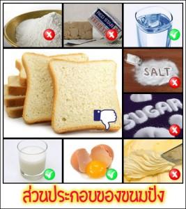 กินอะไรแทนขนมปัง