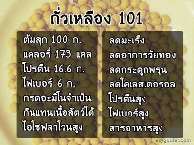 โปรตีนจากถั่วเหลือง